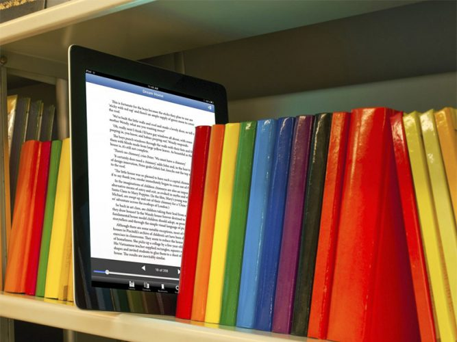 หนังสือและสื่อพื้นฐานทางอิเล็กทรอนิกส์